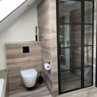 badkamer renovatie Blokker toilet en douche